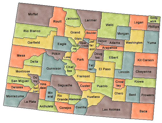 Colorado College Yearbooks By County